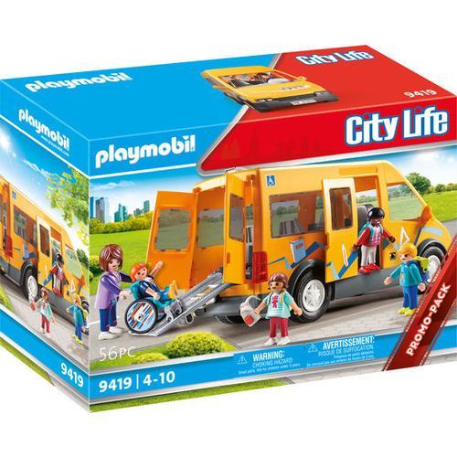 PLAYMOBIL® City Life 9419 Schulbus, bunt