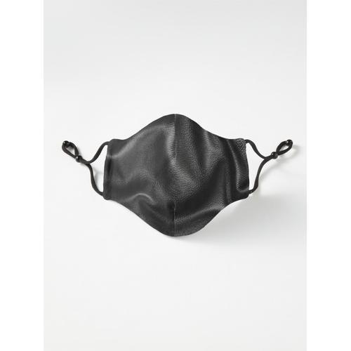 Schwarzes Leder Maske