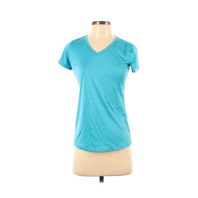RBX Active T-Shirt: Blue Solid Activewear – Size Small
