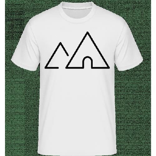 Zelt Symbol - Shirtinator Männer T-Shirt