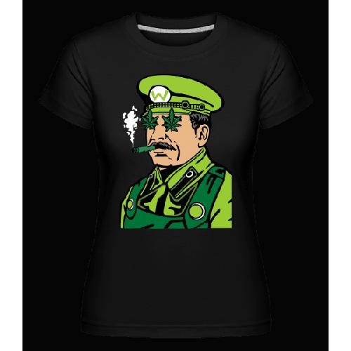 Mario Stalin Weed - Shirtinator Frauen T-Shirt
