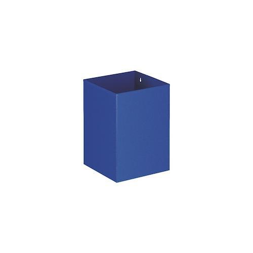 Viereckiger Papierkorb, VB 110200, Blau