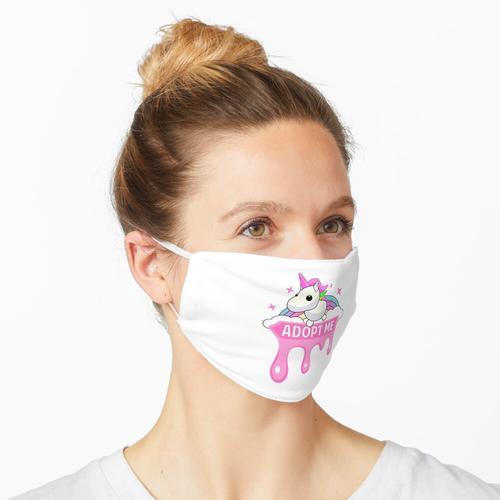 Schmelzfliege Einhorn Maske