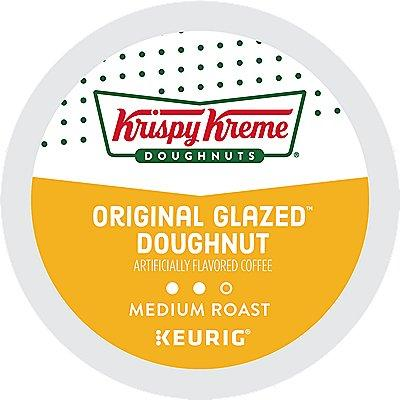 24 Ct Krispy Kreme Doughnuts Coffee Original Glazed™ Doughnut Coffee K-Cup® Pods. Coffee