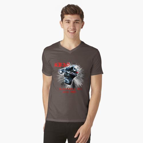 Nissan RB 30 Motor t-shirt:vneck