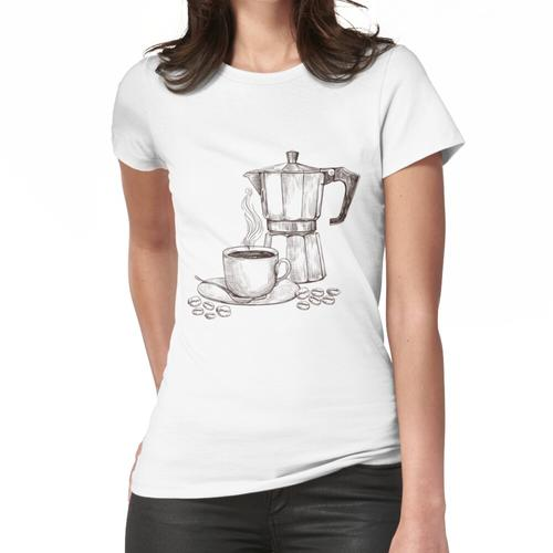 Bialetti Kaffee Frauen T-Shirt