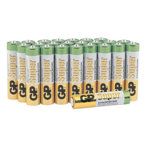 24er-Pack Batterien »Super Alkaline« Micro/ AAA / LR03, GP Batteries