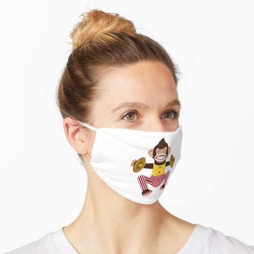 Affe mit Becken. Maske