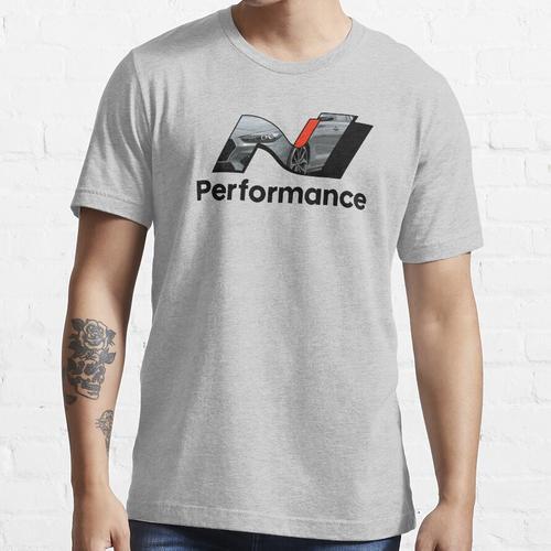 N Leistung - Schattengrau Essential T-Shirt