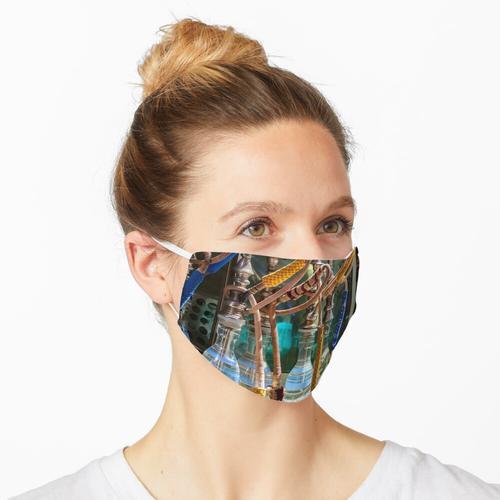 Shisha Wasserpfeifen in Kairo Maske