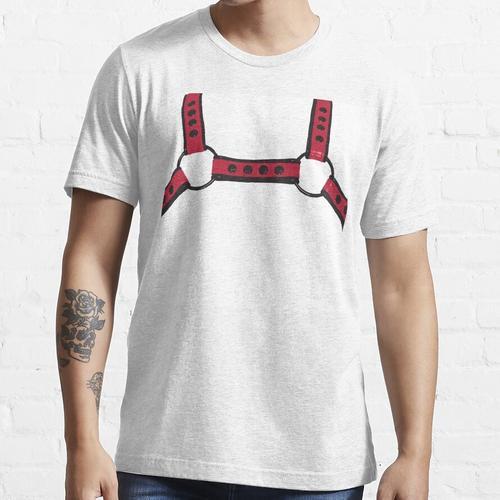 Rotes Geschirr Essential T-Shirt