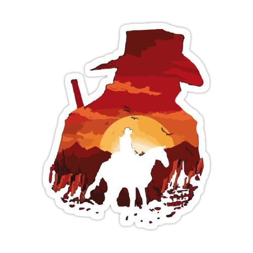 COWBOY Sticker
