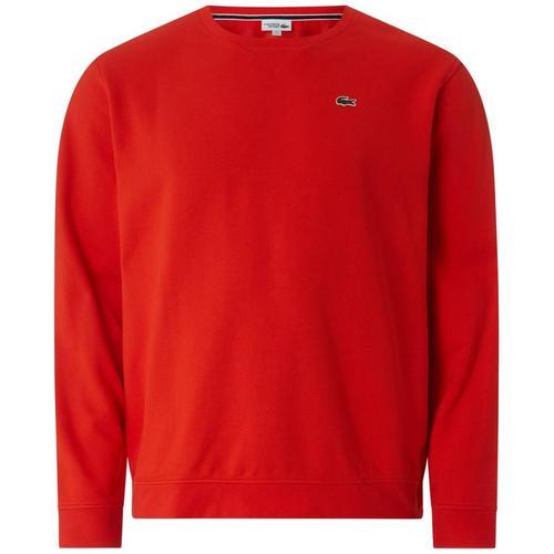 Lacoste Sweatshirt mit Logo-Aufnäher