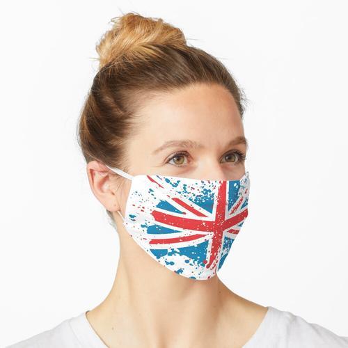 Grunge Union Jack Maske