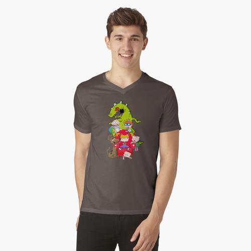 Teppichratten t-shirt:vneck
