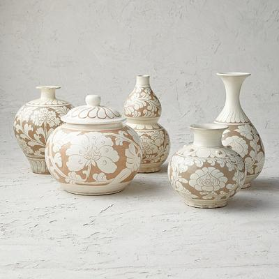 Song Beige Small Ceramic Collect...