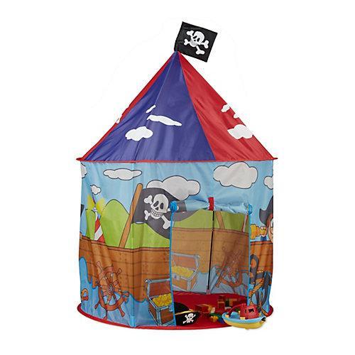 Piraten Spielzelt Kinder blau Kinder