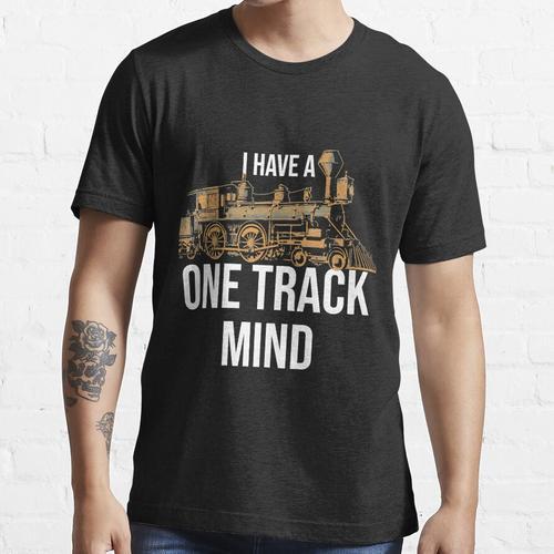 Modelleisenbahn-Lokomotiven-Eisenbahnsammler Essential T-Shirt