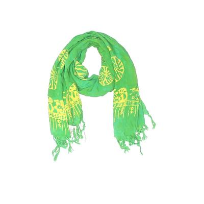Young Fashion Scarf: Green Accessories