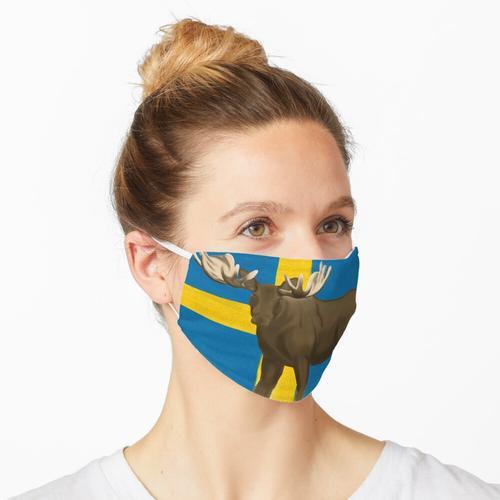 Schwedischer Elch Maske
