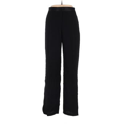 DKNY Wool Pants - High Rise: Black Bottoms - Size 10