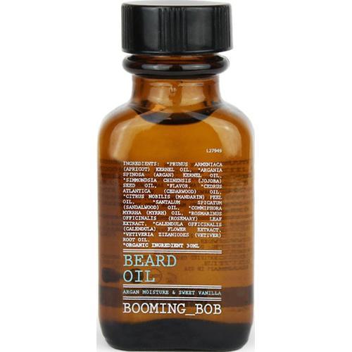 Booming-Bob Beard Beard Oil, Argan moisture & sweet Vanilla 30 ml Bartöl