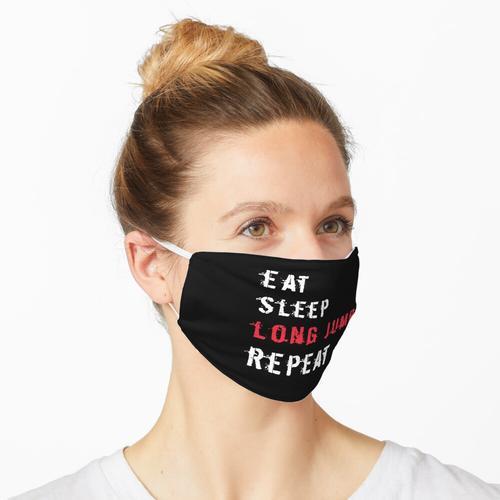 Weitsprung Maske