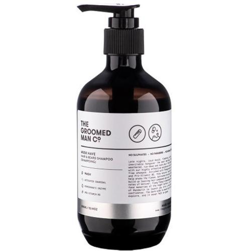 The Groomed Man Musk Have Hair & Beard Shampoo 300 ml Bartshampoo