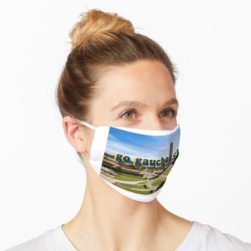 ucsb gauchos art Maske