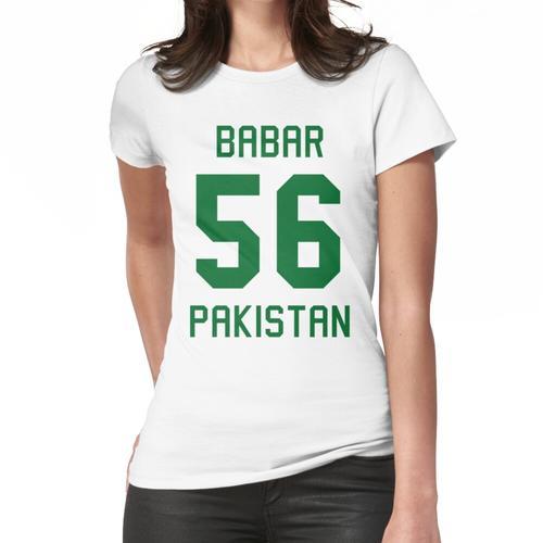 Babar Azam   56   Pakistan Cricket Trikot Frauen T-Shirt