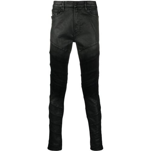 DIESEL Beschichtete Skinny-Jeans
