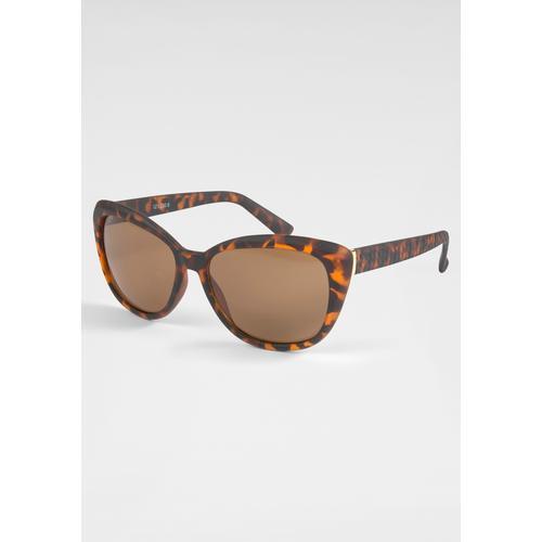 catwalk Eyewear Sonnenbrille, im Retro-Look braun Damen Ovale Sonnenbrille Sonnenbrillen Accessoires