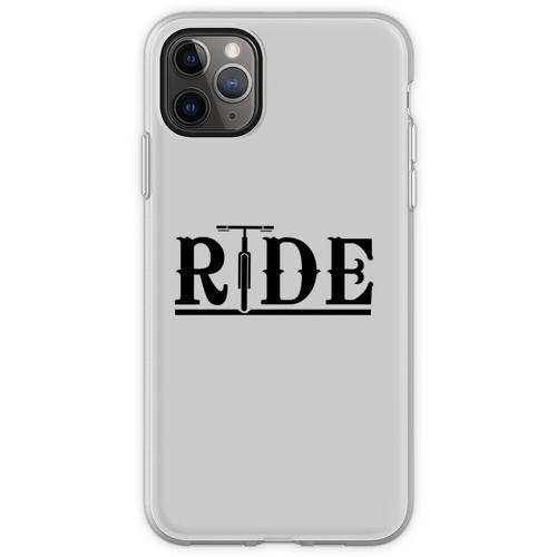 Fahräder fahren Flexible Hülle für iPhone 11 Pro Max