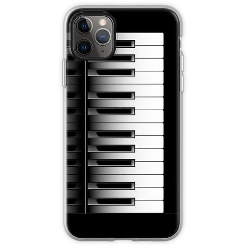 Klavier - 2 Oktaven Flexible Hülle für iPhone 11 Pro Max