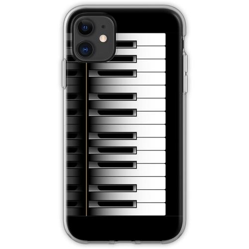 Klavier - 2 Oktaven Flexible Hülle für iPhone 11
