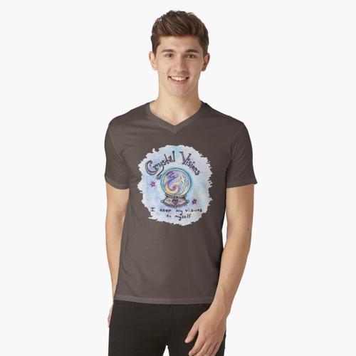 Kristallvisionen t-shirt:vneck