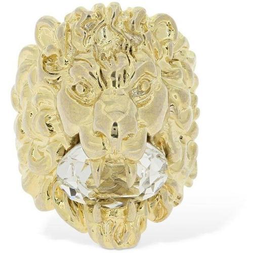 """""""Gucci Ring Mit Kristallen """"""""lionhead"""""""""""""""