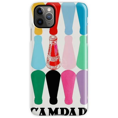 12 Campari-Flaschen iPhone 11 Pro Max Handyhülle