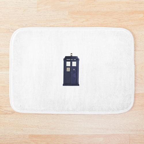 Tardis Doctor Who Badematte