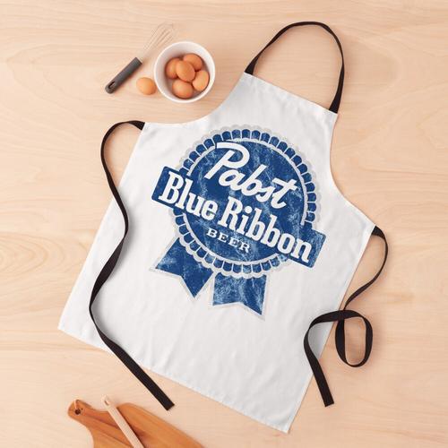 Pabst Blue Ribbon PBR Bier Schürze