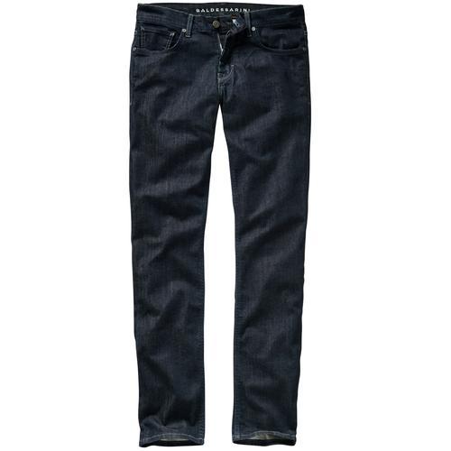 Baldessarini Herren Jeans-Hose Slim Fit Blau einfarbig
