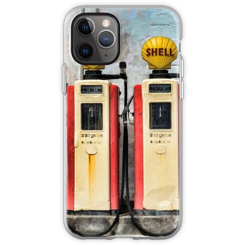 Alte Benzinpumpen Flexible Hülle für iPhone 11 Pro
