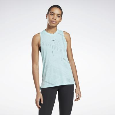 Reebok Women's Burnout Tank Top in Digital Glow Size XS - Training Apparel