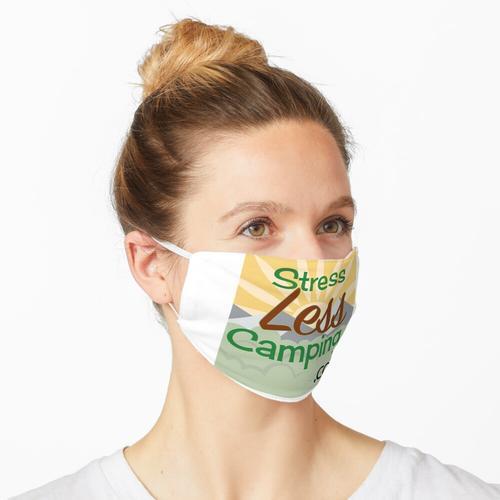 StressLess Camping Logo Maske