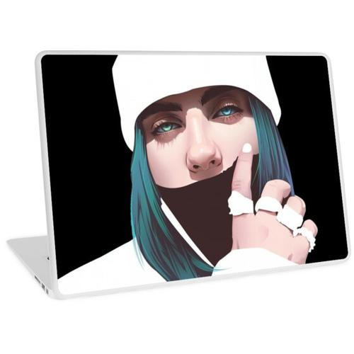 Billie Eillish Laptop Skin
