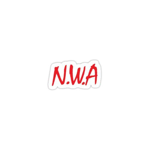 N.W.A Sticker Sticker