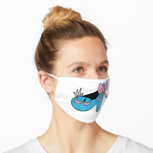 Aschenputtel Schuh Maske