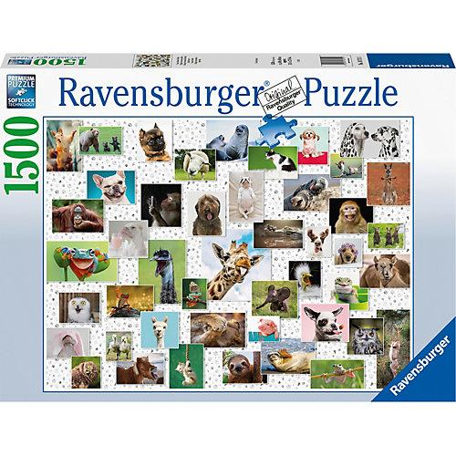 Puzzle Funny Animals Collage, 1.500 Teile
