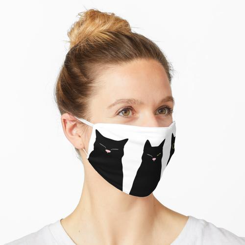 Koffeinhaltige Katzen Maske