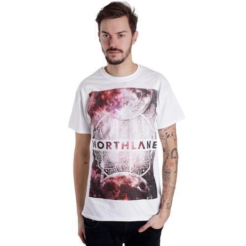 Northlane - Galaxy White - - T-Shirts
